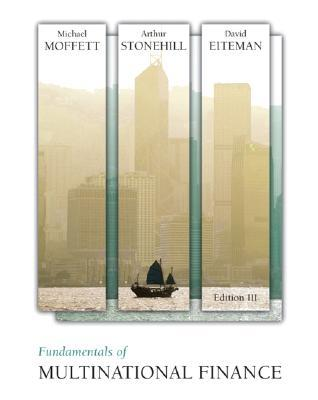 Finance pdf fundamentals of multinational