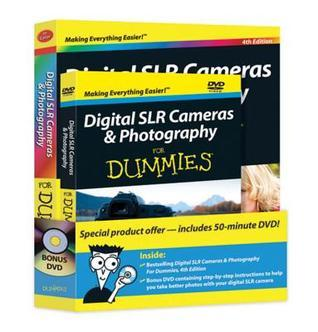 Digital SLR Cameras and Photography For Dummies: Book + DVD Bundle