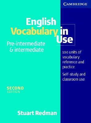 English Vocabulary In Use Pre Intermediate And Intermediate By