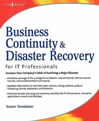 Business Continuity & Disaster Recovery Planning for IT Profe... by Susan Snedaker