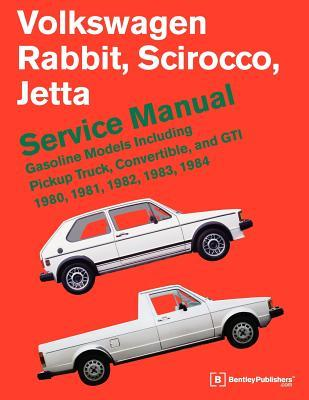 volkswagen rabbit scirocco jetta service manual gasoline models