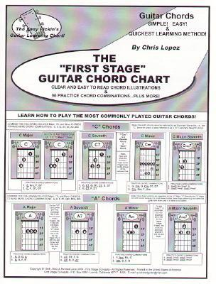 The First Stage Guitar Chord Chart: Learn How to Play the Most ...