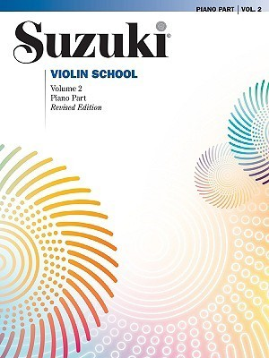 Suzuki Violin School, Volume 2: Piano Part
