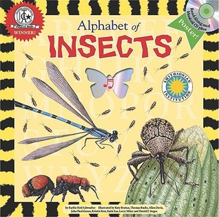 Alphabet of Insects (Smithsonian Alphabet Book) (with audiobook CD, easy-to-download audiobook, printable activities and poster) (Alphabet Books (Soundprints Paperback))