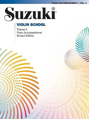 Suzuki Violin School - Volume 3 (Piano Accompaniment) Revised edition
