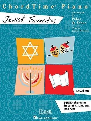 ChordTime Piano, Level 2B: Jewish Favorites