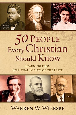 50 People Every Christian Should Know by Warren W. Wiersbe