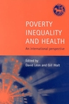 Poverty, Inequality and Health: An International Perspective
