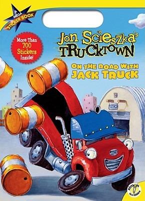 On the Road with Jack Truck: A Mega Sticker Book