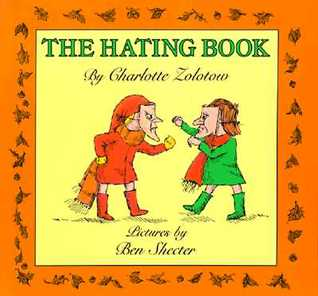 The hating book by charlotte zolotow fandeluxe Images