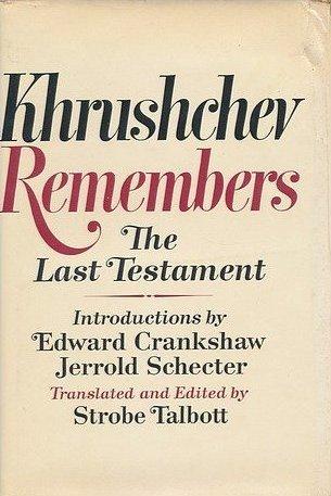Khrushchev Remembers: The Last Testament