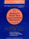 Webster's Third New International Dictionary by Philip Babcock Gove