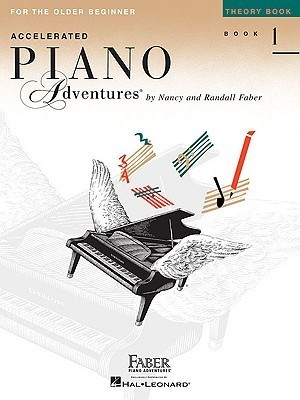 Accelerated Piano Adventures for the Older Beginner, Book 1: Theory Book