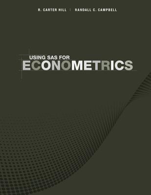 Using SAS for Principles of Econometrics