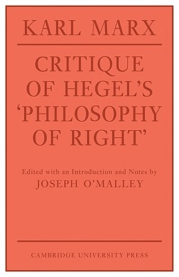 Critique of Hegel's Philosophy of Right