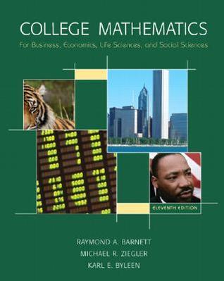 Descargas de libros para iPad 2 College Math for Business, Economics, Life Sciences & Social Sciences