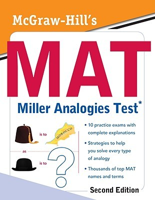 Mcgraw Hills Mat Miller Analogies Test By Kathy A Zahler