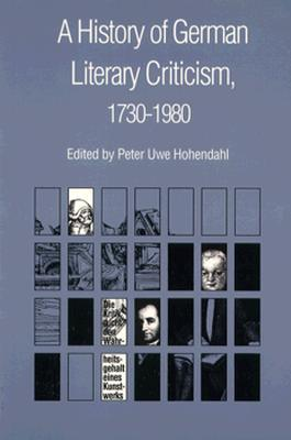 A History of German Literary Criticism, ...
