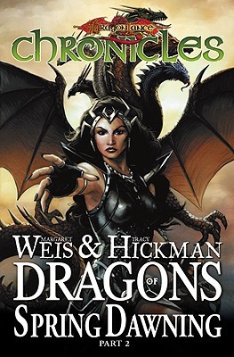 Ebook Dragonlance Chronicles Volume 4: Dragon's of Spring Dawning 2 HC by Margaret Weis DOC!
