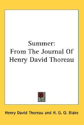 Summer: From the Journal of Henry David Thoreau