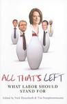 All That's Left: Ideas for a Progressive Australia