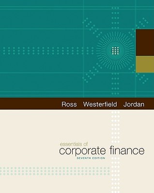 Essentials of corporate finance by stephen a ross essentials of corporate finance other editions enlarge cover 8072713 fandeluxe Images
