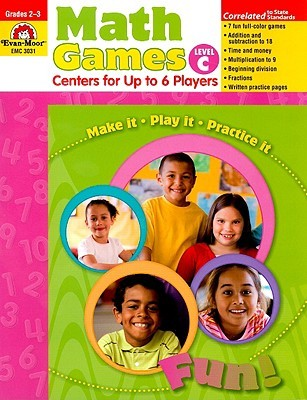 Math Games Level C Grades 2-3: Centers for Up to 6 Players