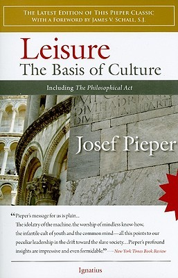 Leisure by Josef Pieper