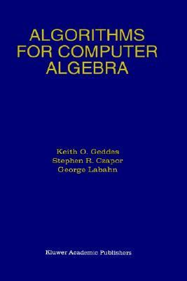 Algorithms For Computer Algebra PDF Free download