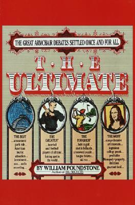 The Ultimate by William Poundstone