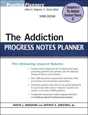 The addiction progress notes planner by david j berghuis the addiction progress notes planner other editions enlarge cover 7370535 fandeluxe Gallery