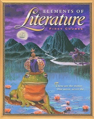 Elements of literature first course by holt rinehart and winston 684511 fandeluxe Image collections