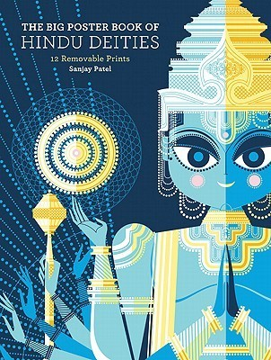 The Big Poster Book of Hindu Deities: 12 Removable Prints