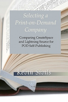 selecting a print on demand company comparing createspace and