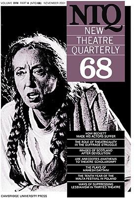 New Theatre Quarterly 68: Volume 17, Part 4