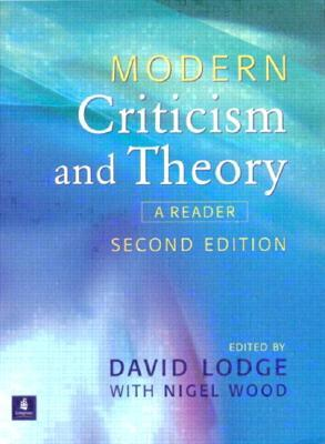 Modern Criticism And Theory A Reader By David Lodge