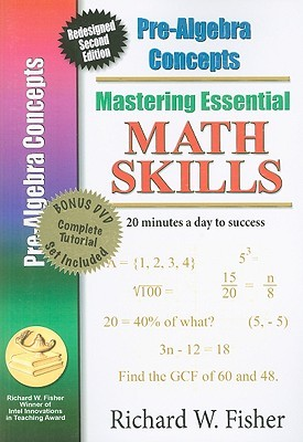 Mastering Essential Math Skills: Pre-Algebra Concepts [With DVD]