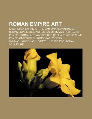 Roman Empire Art: Roman Art, Warren Cup, Fractio Panis, Dura-Europos Synagogue, Pinacotheca
