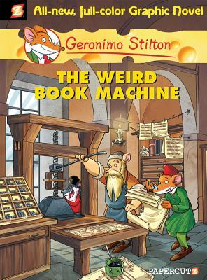 The Weird Book Machine (Geronimo Stilton Graphic Novels, #9)