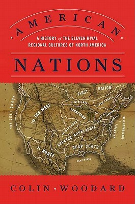 American Nations by Colin Woodard
