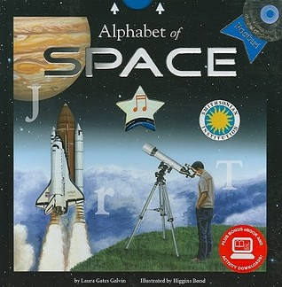 Alphabet of Space (Smithsonian Alphabet Book) (with audiobook CD, easy-to-download audiobook, printable activities and poster) (Smithsonian Institution Alphabet Books)