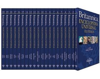 Britannica Enciclopedia Universal Ilustrada (20v) (Spanish Edition)