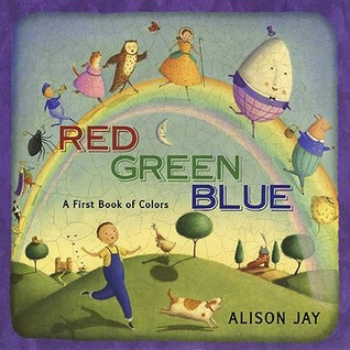 Red, Green, Blue by Alison Jay