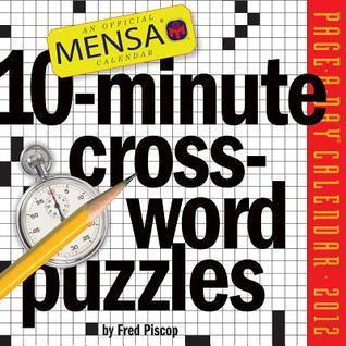 Mensa 10-Minute Crossword Puzzles 2012 Calendar