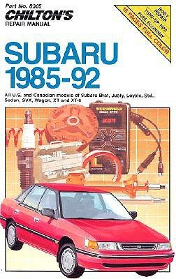 Chilton's Repair Manual: Subaru 1985-92 (Chilton's Repair Manual