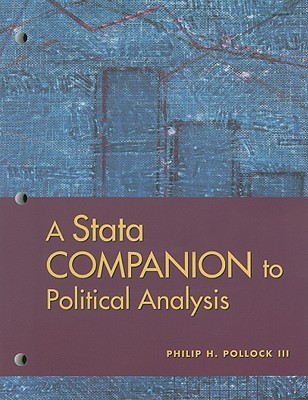 A Stata Companion to Politcal Analysis [With CDROM]