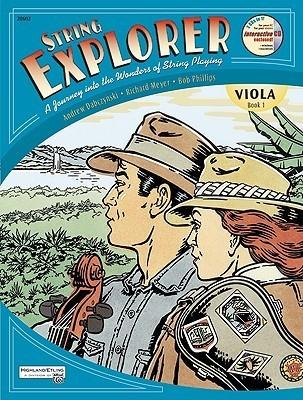 String Explorer, Bk 1: Viola, Book & Interactive CD