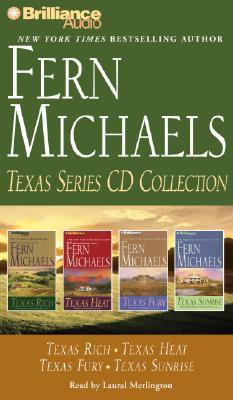 Fern Michaels Texas Series CD Collection: Texas Rich, Texas Heat, Texas Fury, Texas Sunrise