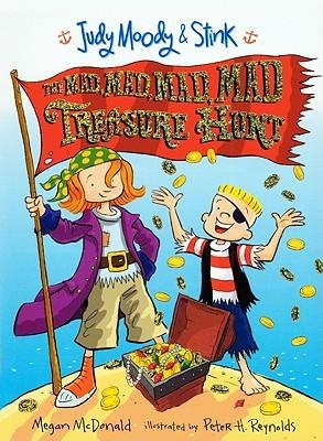 The Mad, Mad, Mad, Mad Treasure Hunt by Megan McDonald