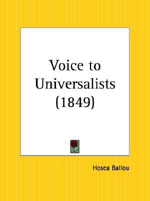Voice to Universalists